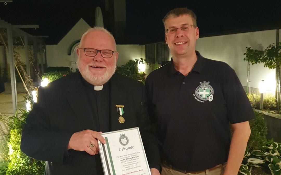 50-jähriger Mitgliedsorden für Reinhard Kardinal Marx