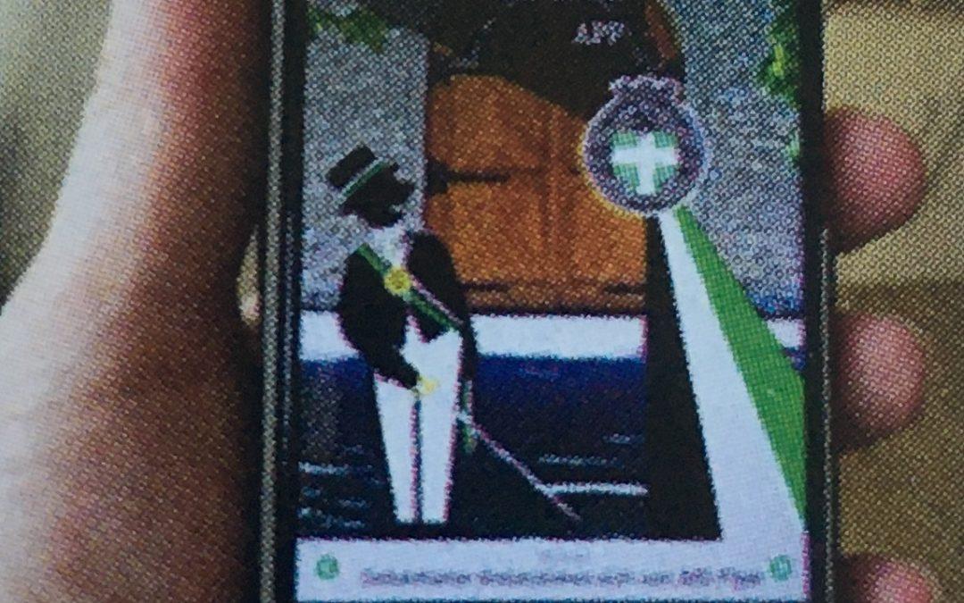 "Sebastianer App im ""Schützenbruder"""