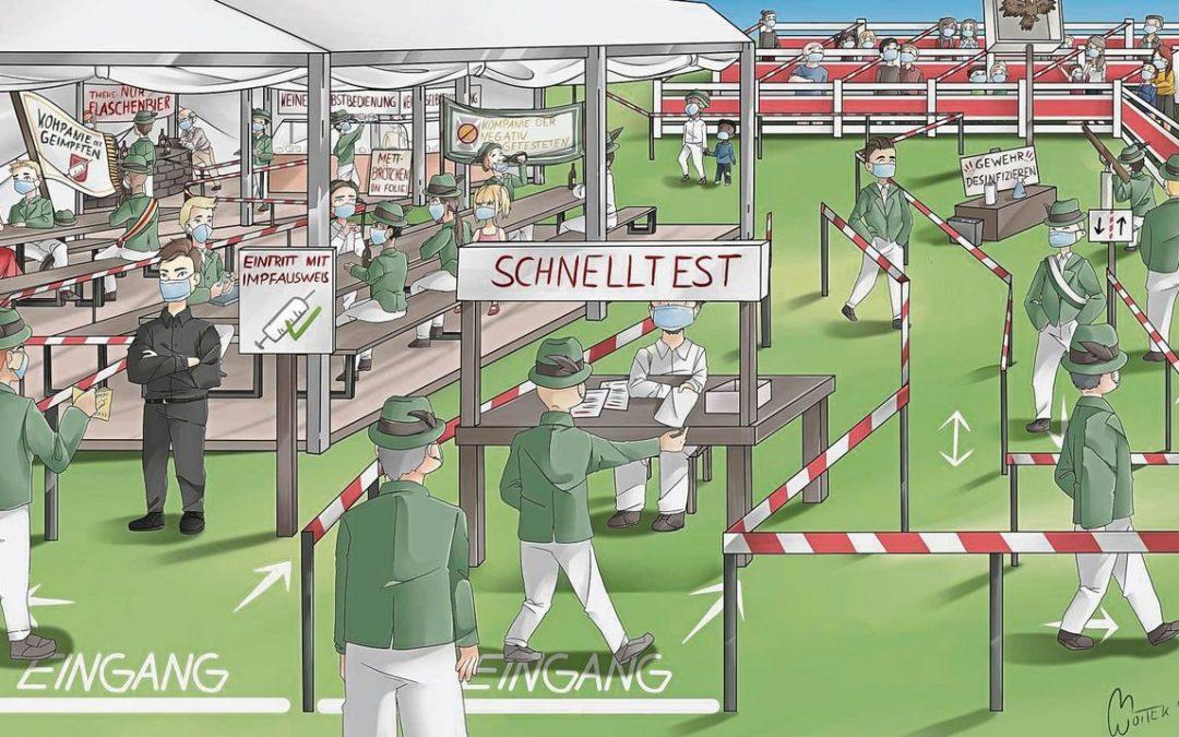 Schützenfest unter Corona-Vorzeichen: Was Hochfest-Experten aus dem Kreis Soest erwarten