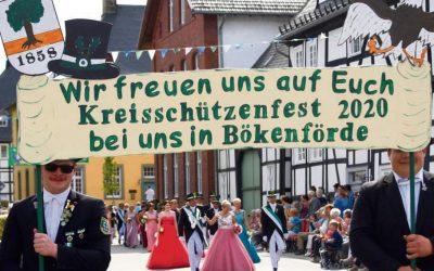 Kreisschützenfest in Bökenförde erneut abgesagt